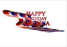 Free Happy July Th Royalty Free Stock Image - 14458696