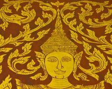 Free Thai Painting Royalty Free Stock Photo - 14459025