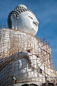 Free Big Budha Royalty Free Stock Images - 14459169