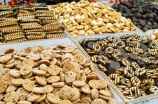 Free Close Up Of Cookies Royalty Free Stock Photography - 14459237