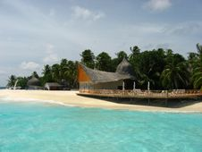 Free Maldivian Resort Royalty Free Stock Image - 14459386