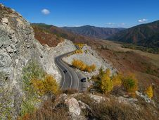Free Mountain Road Stock Photography - 14459392