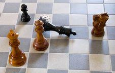 King Checkmate Stock Photos