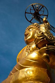 Big Budha Stock Photo