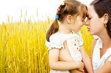 Free Mother And Daughter Stock Images - 14459604
