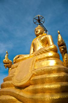 Free Big Budha Royalty Free Stock Photos - 14459658