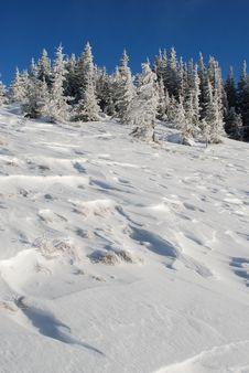 Free Winter Snow Hillside Stock Photos - 14459843