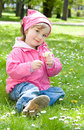 Free Little Girl In Park Stock Photo - 14462340