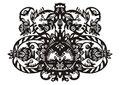 Free Plant Decorative Black Pattern Royalty Free Stock Photo - 14469805