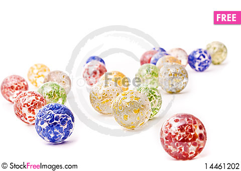 Free Decorative Glass Balls Stock Photography - 14461202