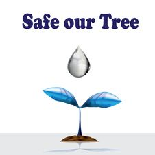 Free 3D Safe Our Tree Royalty Free Stock Photography - 14460597