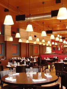 Free Restaurant Royalty Free Stock Image - 14460696