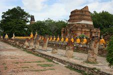 Free AyuttayaThailand Temple Stock Image - 14460821