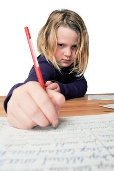 Free Homework Stock Image - 14461031