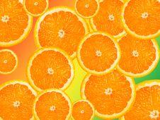 Free Orange Background Royalty Free Stock Images - 14461189