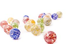 Decorative Glass Balls Stock Photography