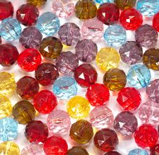 Free Colorful Glass-pearls Royalty Free Stock Photo - 14461815