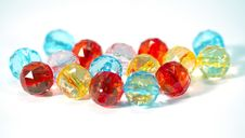 Free Colorful Glass-pearls Royalty Free Stock Photos - 14462128