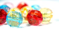 Free Colorful Glass Pearls Royalty Free Stock Image - 14462166