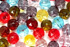 Free Colorful Glass-pearls Stock Photo - 14462390