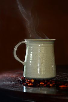 Free Fruit Tea In A Steaming Cup Royalty Free Stock Photos - 14463388