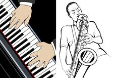 Pianist And Saxophonist