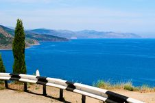 The Black Sea Coast Stock Image