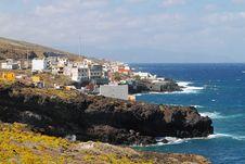 Free Little Village In Tenerife Coast Stock Photography - 14464972