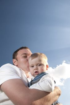 Free Father And Son Royalty Free Stock Photos - 14465048