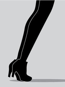 Free Two Women Legs Royalty Free Stock Photos - 14465738