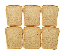 Free Slices Of Bread Isolated Stock Photos - 14466163