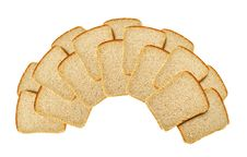 Free Slices Of Bread Isolated Stock Images - 14466184