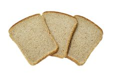 Free Slices Of Bread Isolated Stock Photo - 14466200