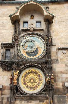 Free Prague Clock Royalty Free Stock Photos - 14467308