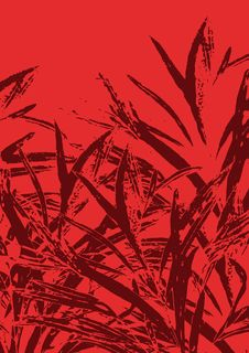 Free Grass Background On Red Stock Images - 14467704