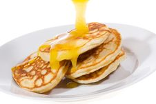 Free Pancakes Royalty Free Stock Photos - 14467718