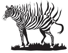 Free Zebra Abstract Stock Images - 14467864