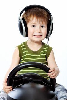 Free Little Gamer Stock Photo - 14468400