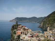 Free Vernazza, Cinque Terre, Italy Royalty Free Stock Image - 14468476