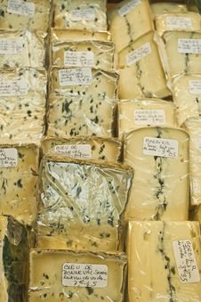 Free Varieties Of Different Cheeses Stock Photos - 14468823