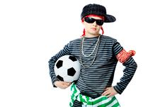 Free Teenager With A Ball Royalty Free Stock Photos - 14468918