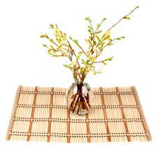 Bamboo Striped Royalty Free Stock Photo