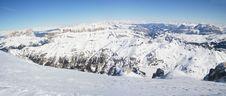 Italien Dolomite - Panorama Royalty Free Stock Photos