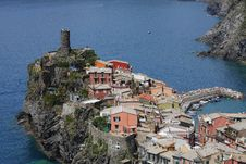 Free Vernazza, Cinque Terre, Italy Royalty Free Stock Images - 14469319