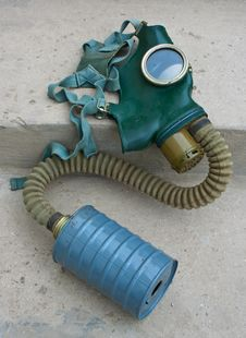 Old Gas Mask Royalty Free Stock Photos