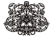 Free Plant Decorative Black Pattern Royalty Free Stock Photo - 14469805