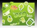 Free Set Of Ecology Icons. Stock Images - 14470934