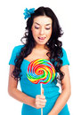 Free Girl With A Lollipop Royalty Free Stock Images - 14473989