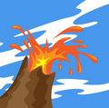Free Volcano Eruption Stock Photo - 14478360