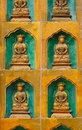 Free Relief Sculpture Of Buddhas Royalty Free Stock Photo - 14478975